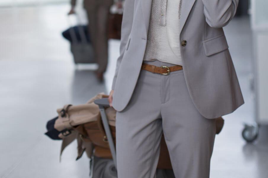 Leder Reisetasche Damen Business