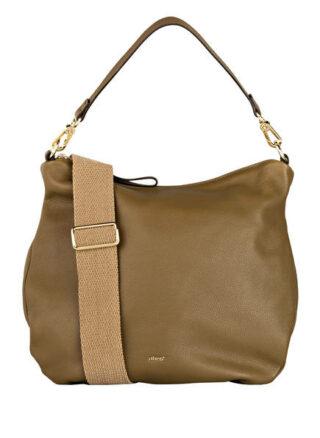 Abro Erna Small Hobo-Bag, Grün
