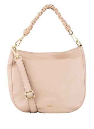 Abro Lota Small Hobo-Bag, Rosa