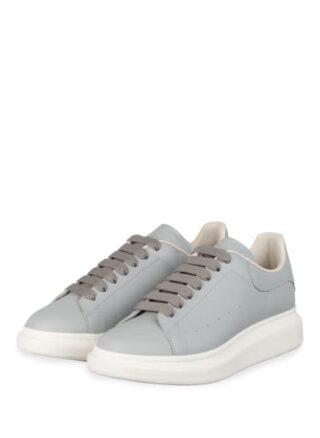 Alexander Mcqueen Plateau-Sneaker, Blau