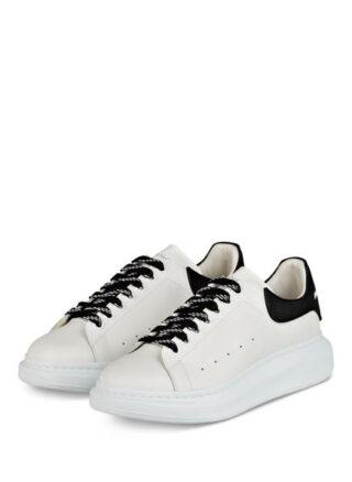 Alexander Mcqueen Plateau-Sneaker, Weiss