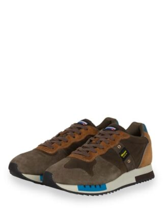 Blauer Queens Sneaker, Braun