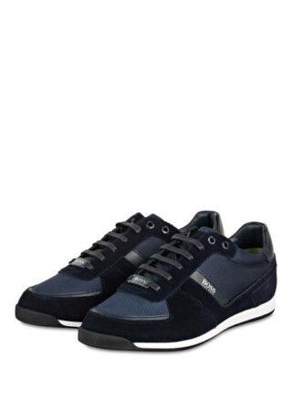 Boss Glaze Sneaker Herren, Blau