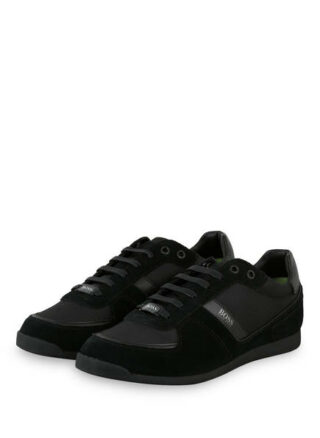 Boss Glaze Sneaker Herren, Schwarz