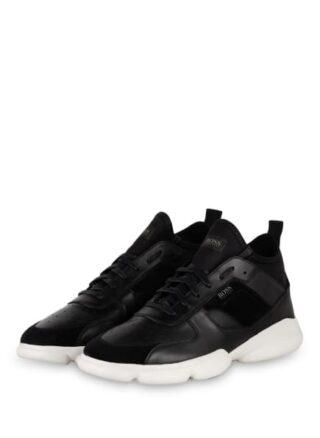 Boss Rapid Hightop-Sneaker, Schwarz