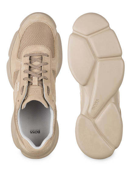 Boss Rapid Runn Sneaker, Beige