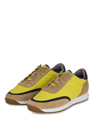 Boss Sonic Runn Sneaker, Gelb