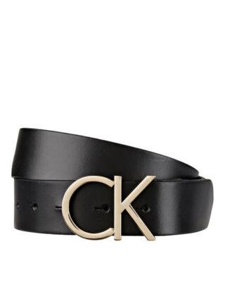 Calvin Klein Ledergürtel, Schwarz