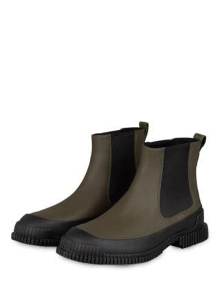 Camper Pix Chelsea-Boots, Grün