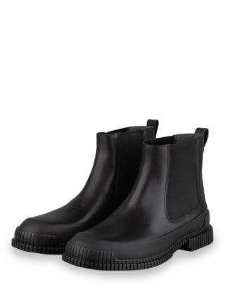 Camper Pix Chelsea-Boots, Schwarz
