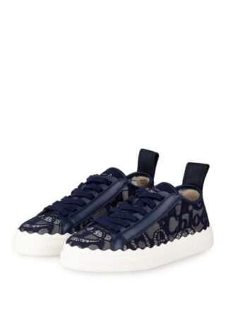 Chloé Lauren Sneaker, Blau