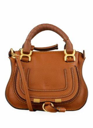 Chloé Marcie Mini Handtasche, Beige