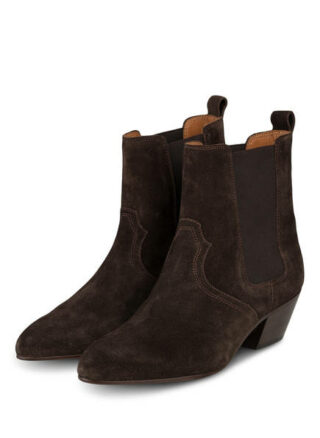Closed Cowboy Boots, Braun
