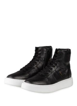 Copenhagen Hightop-Sneaker, Schwarz