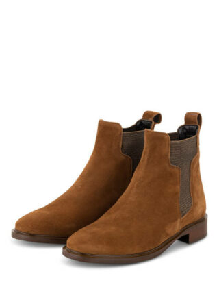 Darling Harbour Chelsea-Boots, Braun