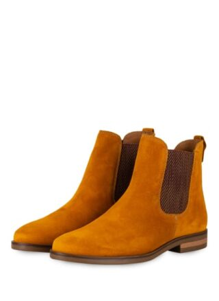 Darling Harbour Chelsea-Boots, Gelb