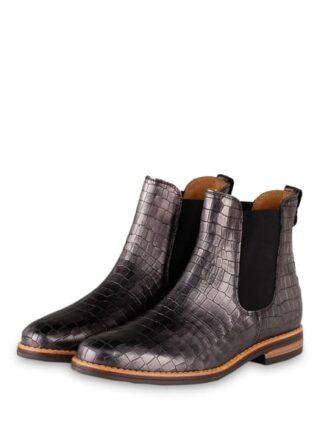 Darling Harbour Chelsea-Boots, Grau
