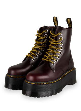 Dr. Martens Jadon Max Plateau-Boots, Rot