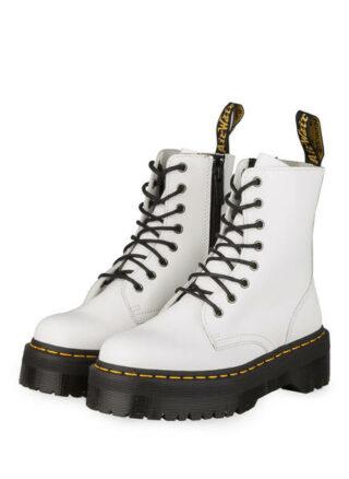 Dr. Martens Jadon Plateau-Boots, Weiss