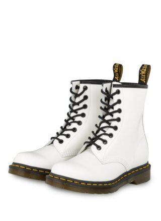 Dr. Martens Pascal Biker Boots, Weiss