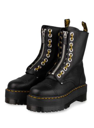 Dr. Martens Sinclair Hi Max Plateau-Boots, Schwarz