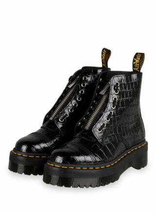 Dr. Martens Sinclair Plateau-Boots, Schwarz