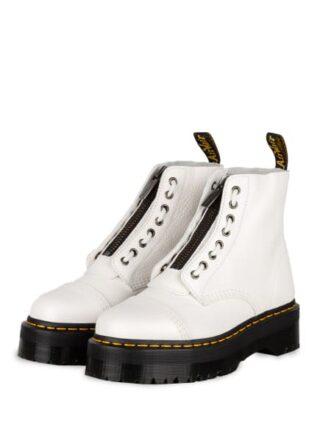 Dr. Martens Sinclair Plateau-Boots, Weiss