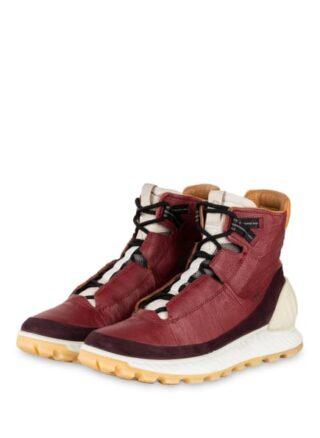 Ecco Exostrike M Hightop-Sneaker, Rot