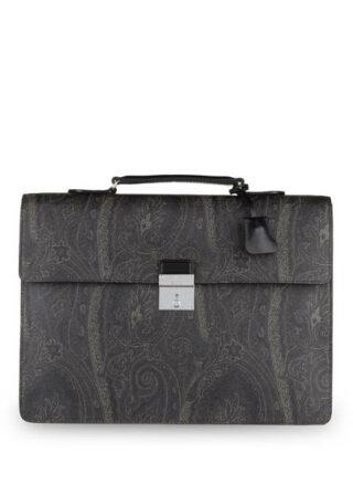 Etro Business-Tasche, Schwarz