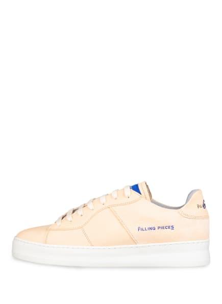 Filling Pieces Low Plain Plateau-Sneaker, Beige