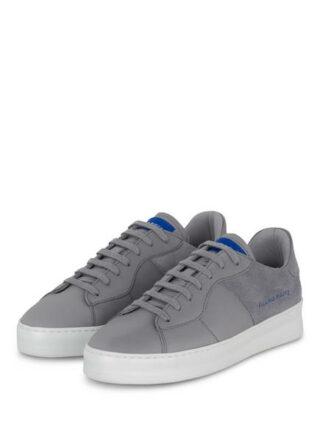 Filling Pieces Low Plain Plateau-Sneaker, Grau