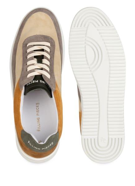 Filling Pieces Mondo Ripple Split Sneaker, Beige