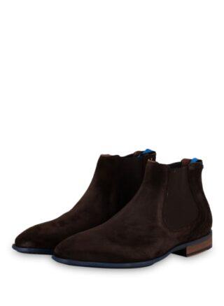 Floris Van Bommel Chelsea-Boots, Braun
