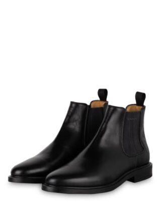 Gant St Akron Chelsea-Boots, Schwarz