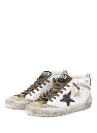 Golden Goose Deluxe Brand Mid Star Hightop-Sneaker, Weiss