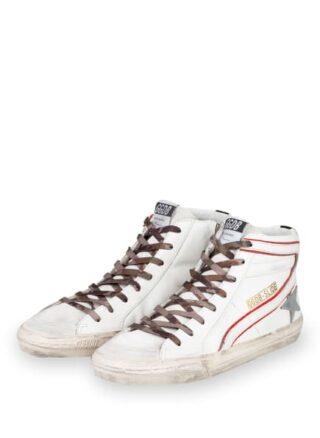 Golden Goose Deluxe Brand Slide Hightop-Sneaker, Weiss