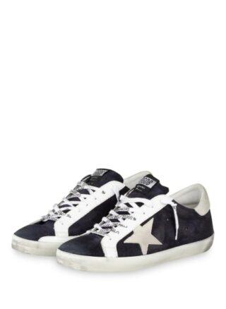 Golden Goose Deluxe Brand Superstar Sneaker, Blau