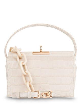 Gu_De Milky Handtasche, Beige