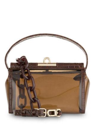 Gu_De Water Handtasche, Braun