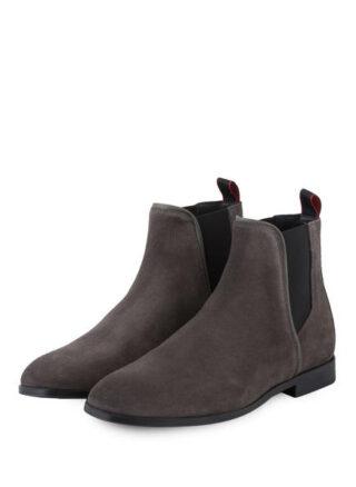 Hugo Boheme Chelsea-Boots, Grau