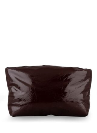 Kassl Lacquer Clutch, Rot
