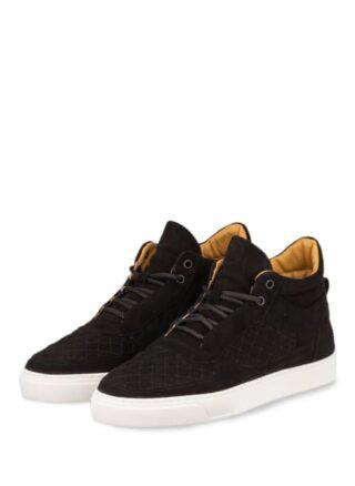 Leandro Lopes Faisca Hightop-Sneaker, Schwarz