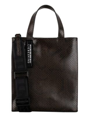 Liebeskind Berlin Paperbag S, Shopper, Braun
