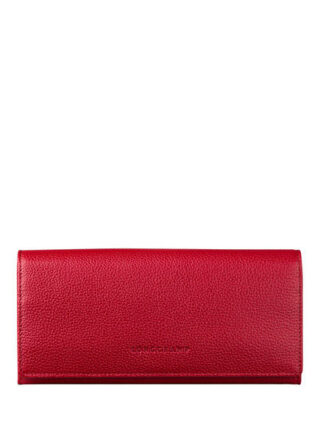 Longchamp Le Foulonne Geldbörse, Rot