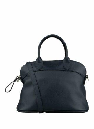 Longchamp Le Foulonné S Handtasche, Blau