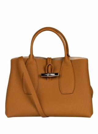 Longchamp Roseau Handtasche, Braun