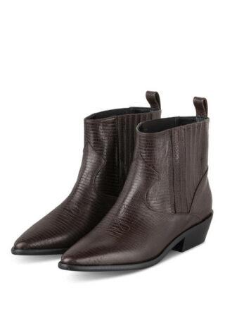 Marc Cain Cowboy Boots, Braun
