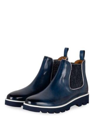 Melvin & Hamilton Selina Chelsea-Boots, Blau