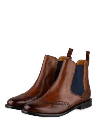 Melvin & Hamilton Selina Chelsea-Boots, Braun