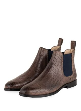 Melvin & Hamilton Susan Chelsea-Boots, Braun